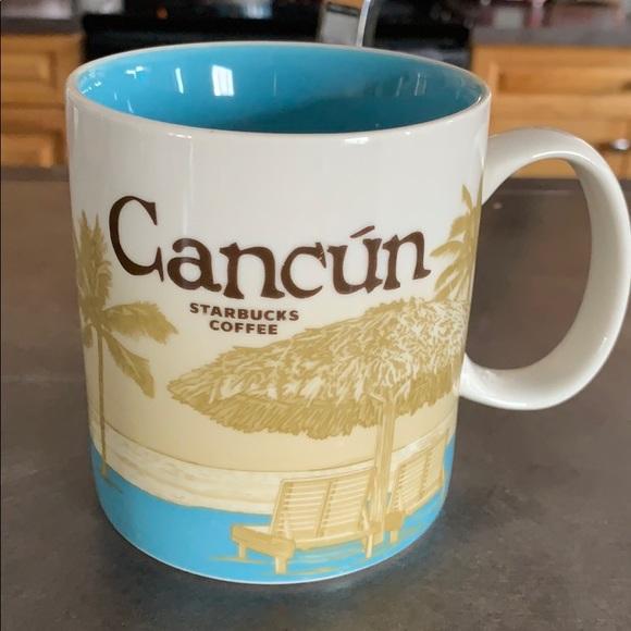 Cancun Starbucks Mug